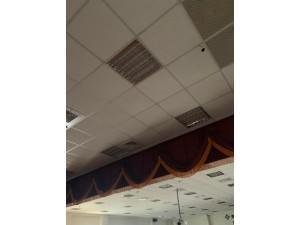 格柵型LED燈具施工示意圖